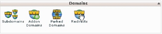 cPanel Redirects