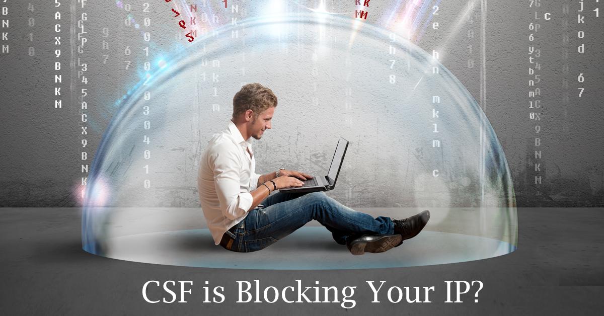 CSF blocking IP