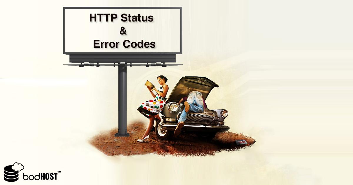 HTTP Status and Error Codes